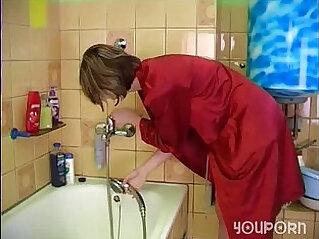 31:43 - Skinny blonde Teen babe gets Fucked In The Bathroom Pleasure -