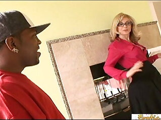 26:17 - Enormous black cocks make this mature blonde a really happy woman -