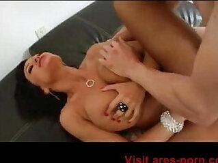 17:45 - Lisa Ann Blowjob and Hot Fuck milf creampie step mom -