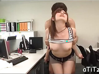 5:36 - Breasty japanese shows her bottoms -