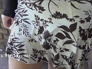 8:58 - Callies public nudity and amateur babe flashing outdoors with naughty young exhi -