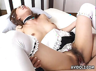 8:41 - Asian maid getting face fucked very hard by the dude -