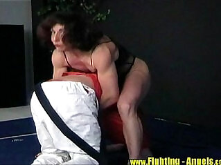 Agnes Domination Mixed Wrestling