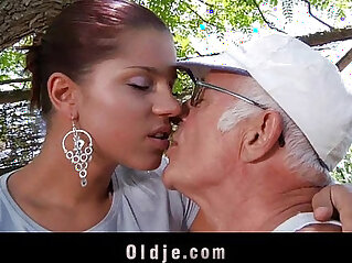 6:12 - Big dick oldman fucks his much younger sexy girlfriend -