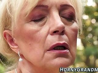 6:41 - Jizz mouthed grandma blow -