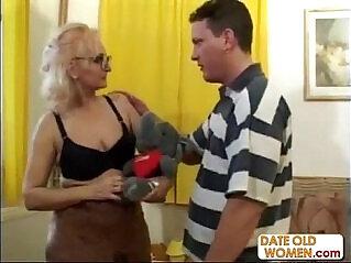 22:58 - Large Glasses Exotic Grandmother -