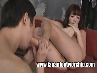 8:37 - Foot Fetish Japan Foot Worship -