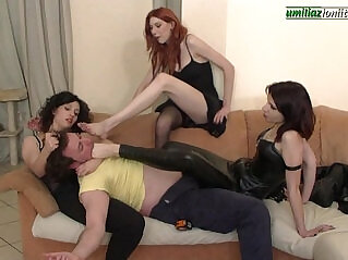 2:25 - Maintenance Work. Girls Trample and Barefoot -