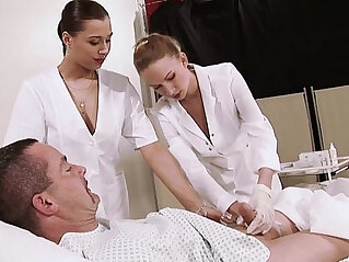 12:03 - Young horny sexy Nurses -
