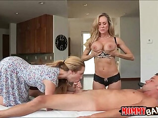 6:16 - Taylor Whyte and Brandi Love sharing dick on massage table -