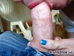 2:06 - Granny Squeezing On A Cock Point Of View -