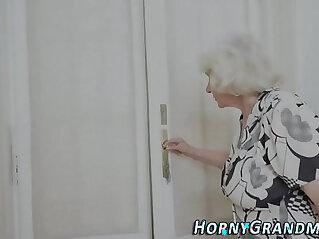 7:25 - Fuzzy granny jizz mouthed -