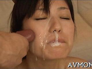 5:32 - Pretty asian hottie licking dick -