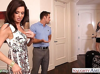 8:37 - Brunettes india summer and veronica avluv share a big dick -