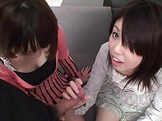 3:02 - Subtitled Uncensored Japanese CFNM blowjob in Full HD -