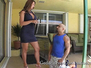 1:54 - Puppy in Training Femdom FootFetish Foot Worship -