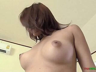 11:56 - Thai girl with braces and nice booty fucks raw dog -