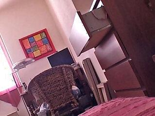 8:25 - my sister caught nude in hidden cams -