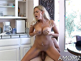 5:21 - Licking and fucking hot mamma -