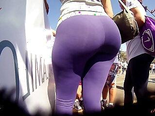2:37 - Candid Booty Culo Bunda Rabuda Suplex Legg Spandex Lycra voyeur pawg Premium -