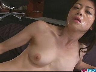 8:50 - Hot Japanese chick Hojo Maki manhandled -