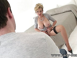 13:48 - Lady sonia stripping for the young man -