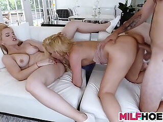 8:57 - A Dirty Affair With Her Stunning Mom And BF -