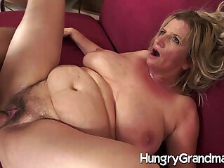 6:56 - Hairy cunt for younger dude -