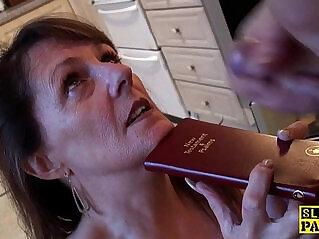 10:24 - Bible bashing sub slut doggystyled -